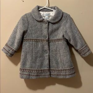 Girls 6-12 month Pea coat by the children's place